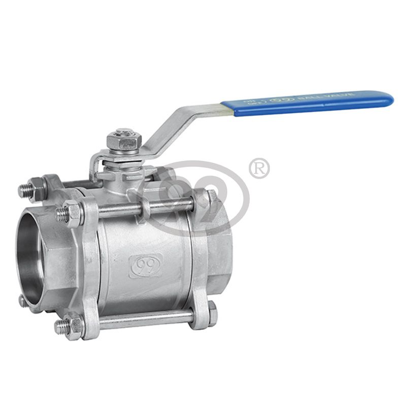 3-PC Socket Weld Ball Valve (Full Bore 1000PSI)