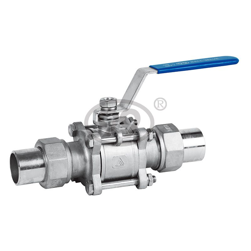 3-PC Union Butt Weld Ball Valve (Full Bore 1000PSI)