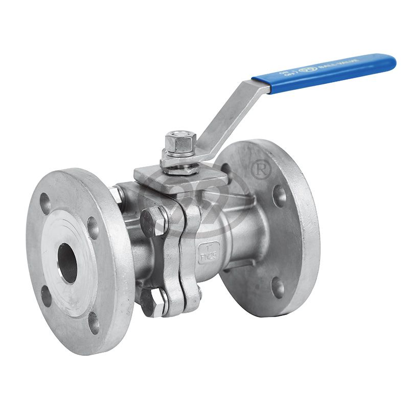 2-PC Flanged Ball Valve (Full Bore PN25)