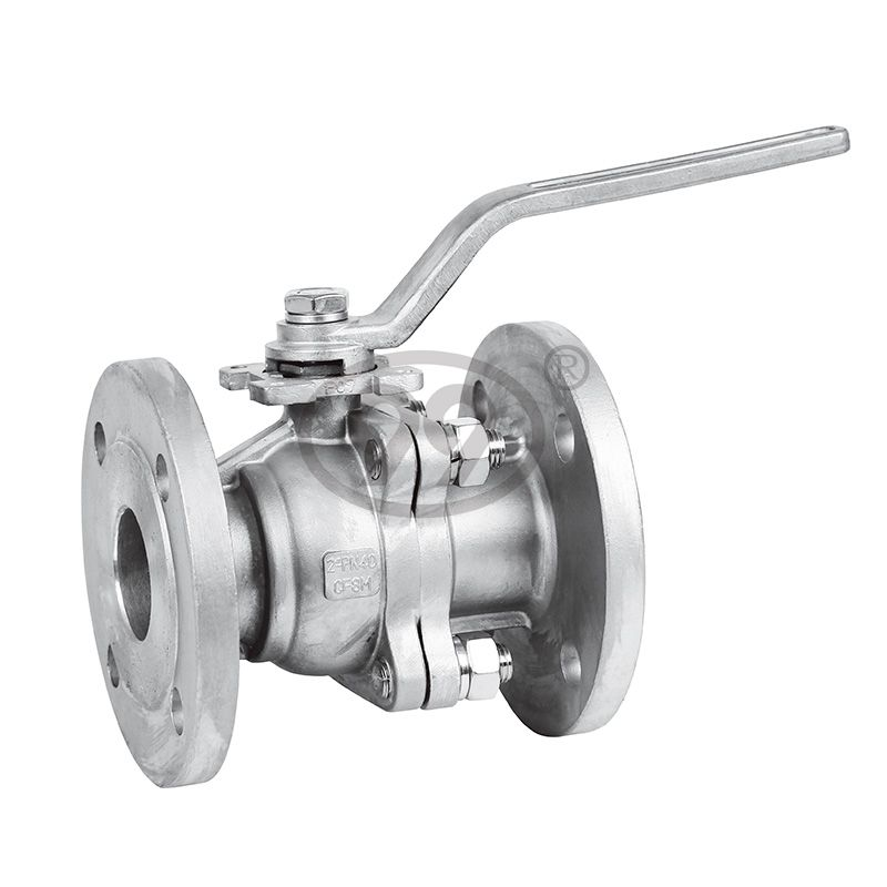 2-PC Flanged Ball Valve (Full Bore DIN-F4 PN16)