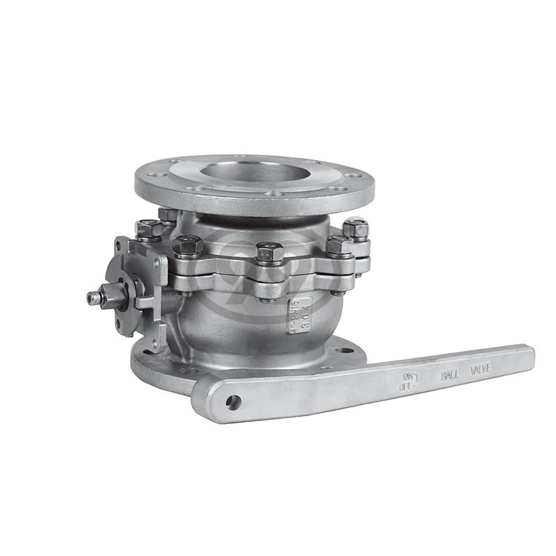 2-PC Flanged Ball Valve (Full Bore DIN-F4 PN40)