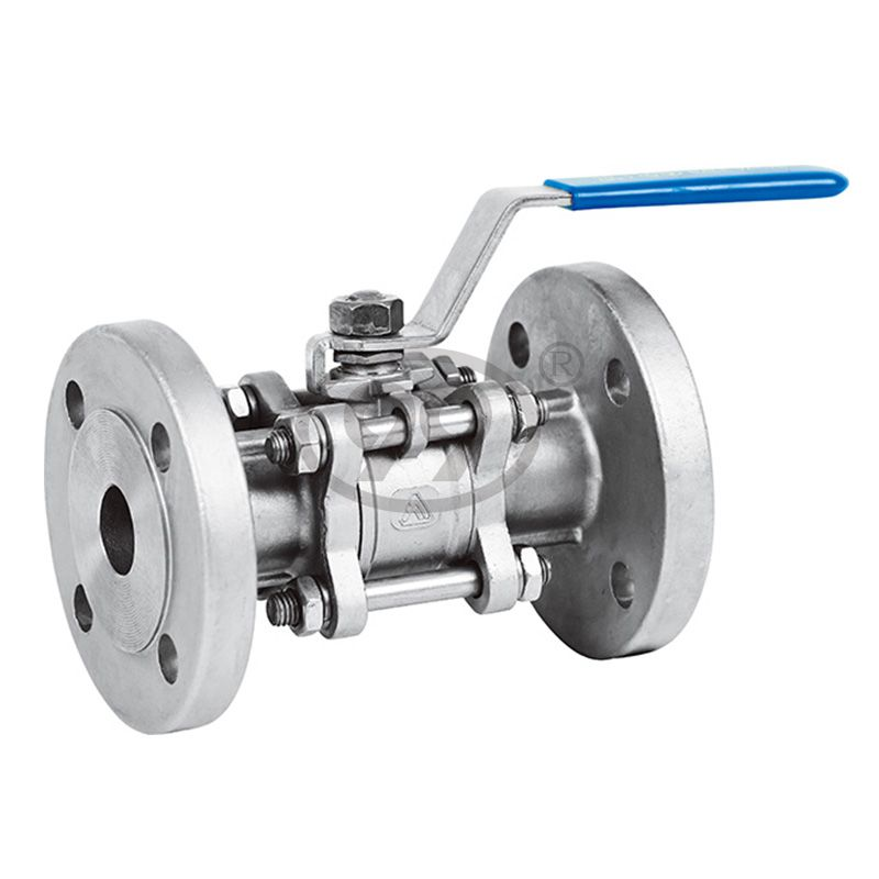 3-PC Flanged Ball Valve (Full Bore DIN-F1 PN16)